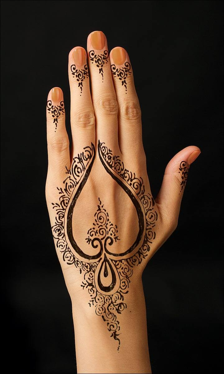 Cara Menghilangkan Tato Henna : menghilangkan, henna, Gambar, Henna, Tangan, Cantik, Simple, Beserta, Membuatnya, Rejeki, Nomplok