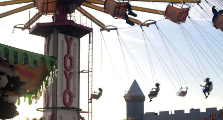 Swings at Family Kingdom