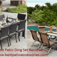 Best Outdoor Dining Chairs Black Wicker Patio Sets 2019 Exclusive Set Reviews