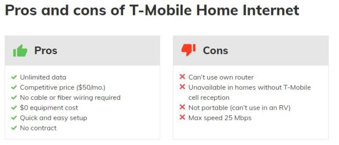 T Mobile Home Internet Review Covers All Aspects