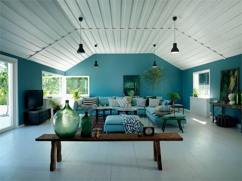 Colores fuertes para una casa nrdica  Blog tienda