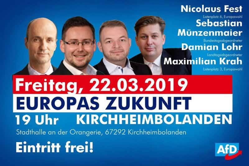 Veranstaltung zu Europas Zukunft