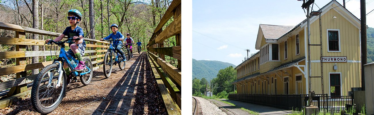 New River Gorge Family Vacation Ace Raft