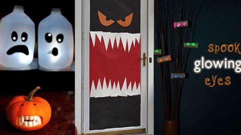 26 Diy Halloween Decorations