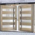 Pivot Front Doors Glass Metal Pivot Doors