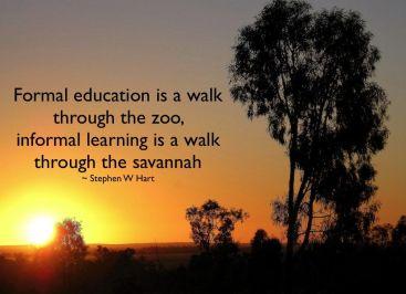 formal learning vs informal learning