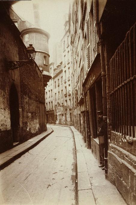 Atget, Rue de l'Hotel de Ville, 1921