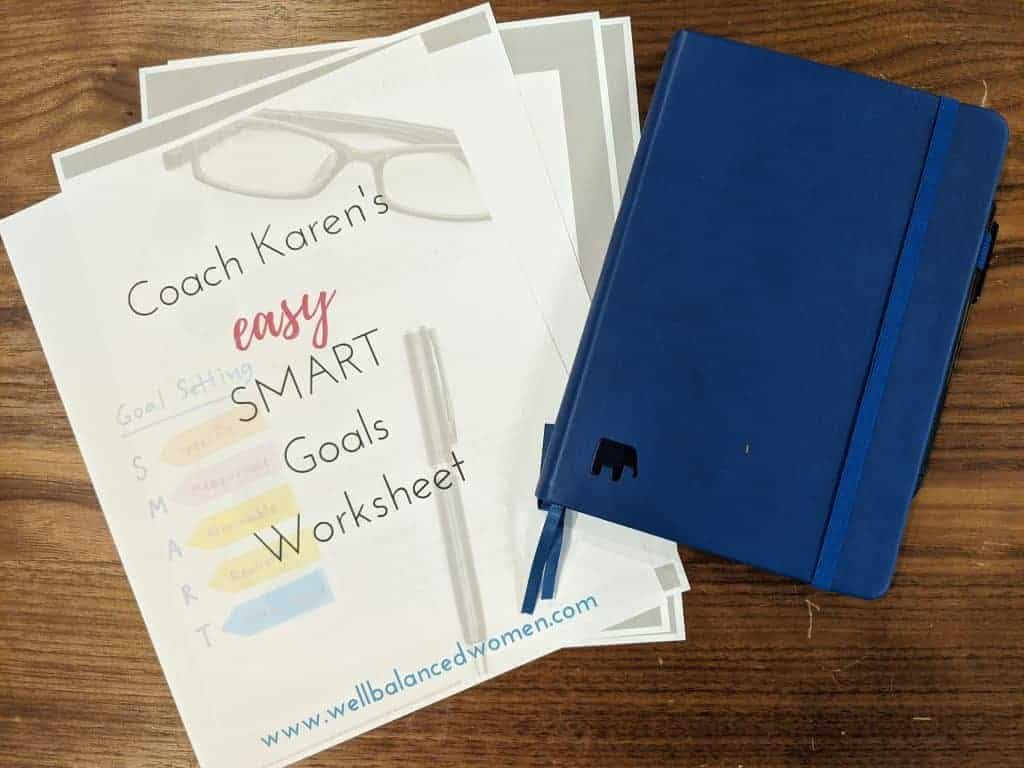 A Goal Setting Worksheet For Smart Goals
