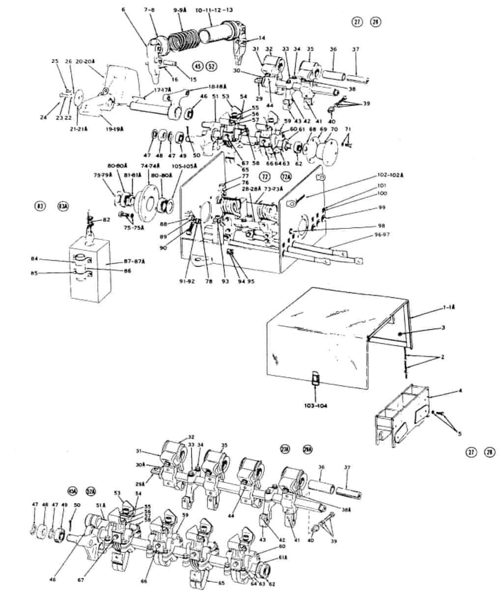 No 30 Youngstown Limit Switch Type Ddg Series A