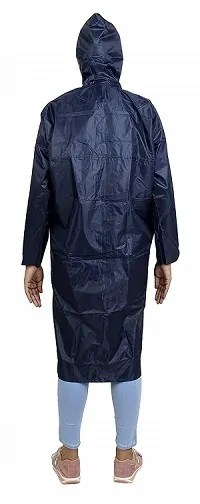 Zacharias Women's Polyester Long Rain Coat