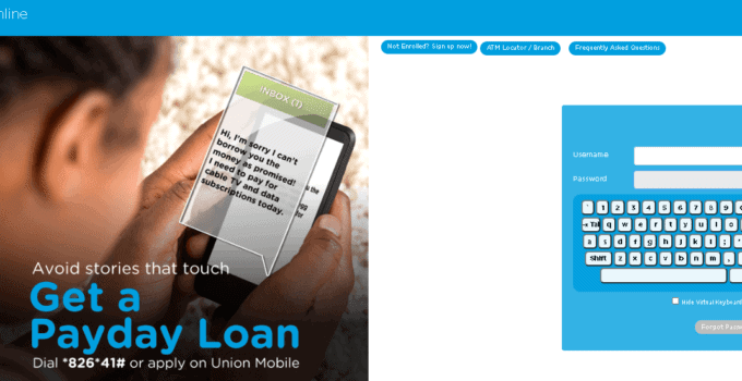 Union Bank Nigeria Internet Banking How To Register Login Use Union Bank Online Banking