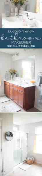 Affordable Master Bathroom Makeover Simply Designing With Ashley