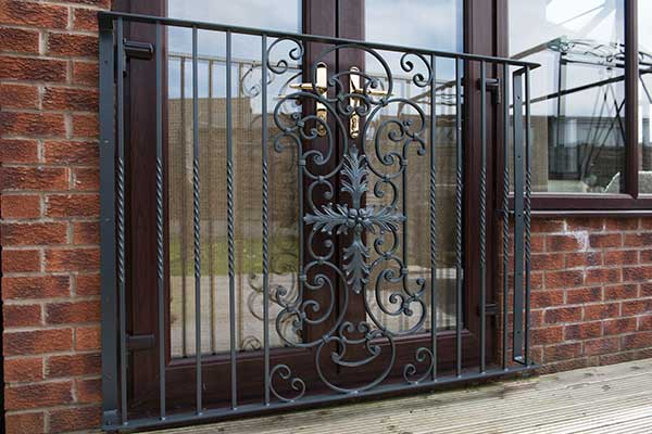 Parisian Style French Balcony Hand Forged Steel