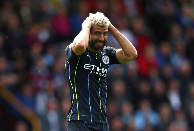 Manchester City could once again be without Sergio Aguero (Photo courtesy: AFP/Getty)