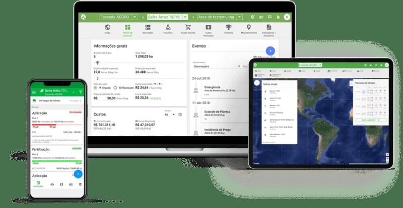 Aegro aplicativo de gestão rural
