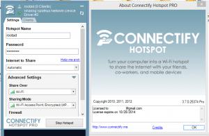 Connectify Hotspot Full Crack + License Key