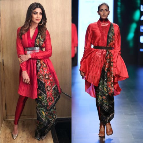 Shilpa Shetty look in Designer Salwar Suit
