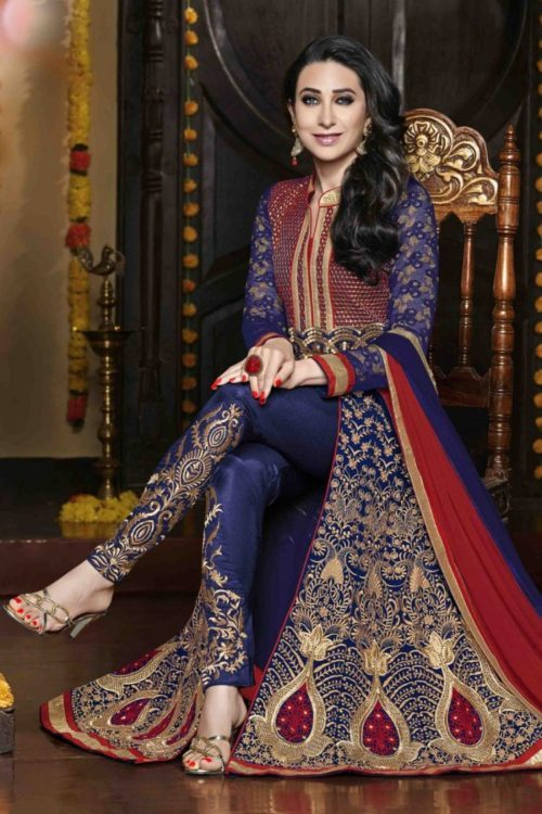 designer Salwar suit with churidar style