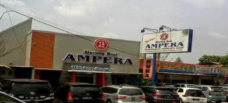 Rumah Makan Sunda Ampera Bandung