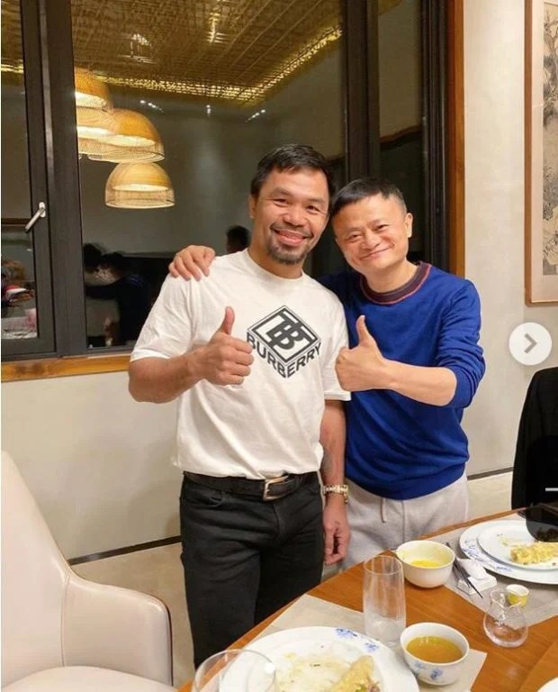 Manny Pacquiao and Jack Ma featured image