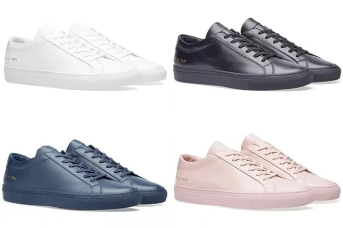 The Best Common Projects Sneakers
