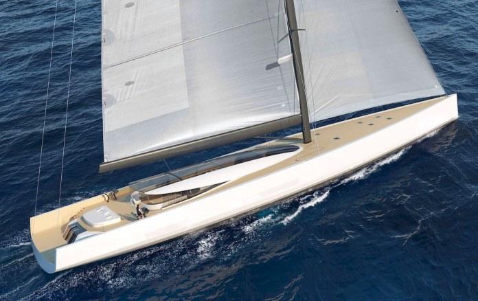 Velero SY200 de 63 metros por Philippe Briand