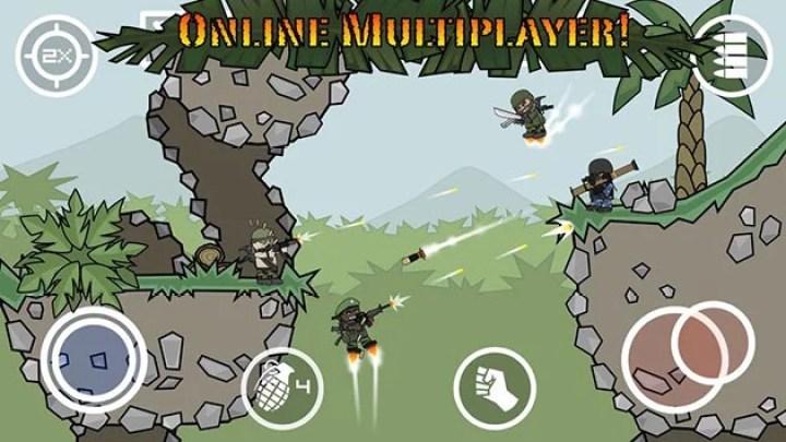 Mini Militia - Doodle Army 2 screenshot 3