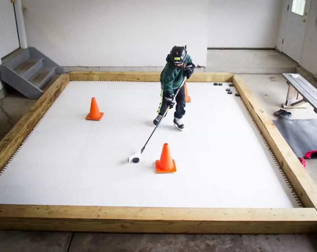 indoor ice rink for home