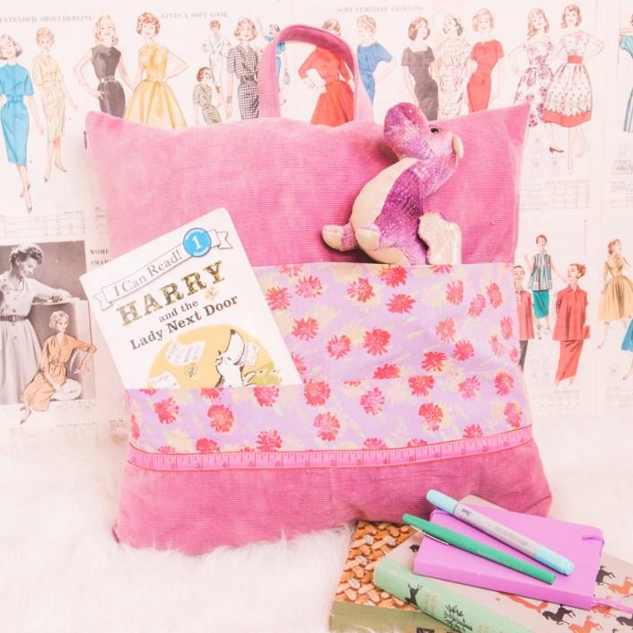 Book Pillow DIY Sewing Tutorial