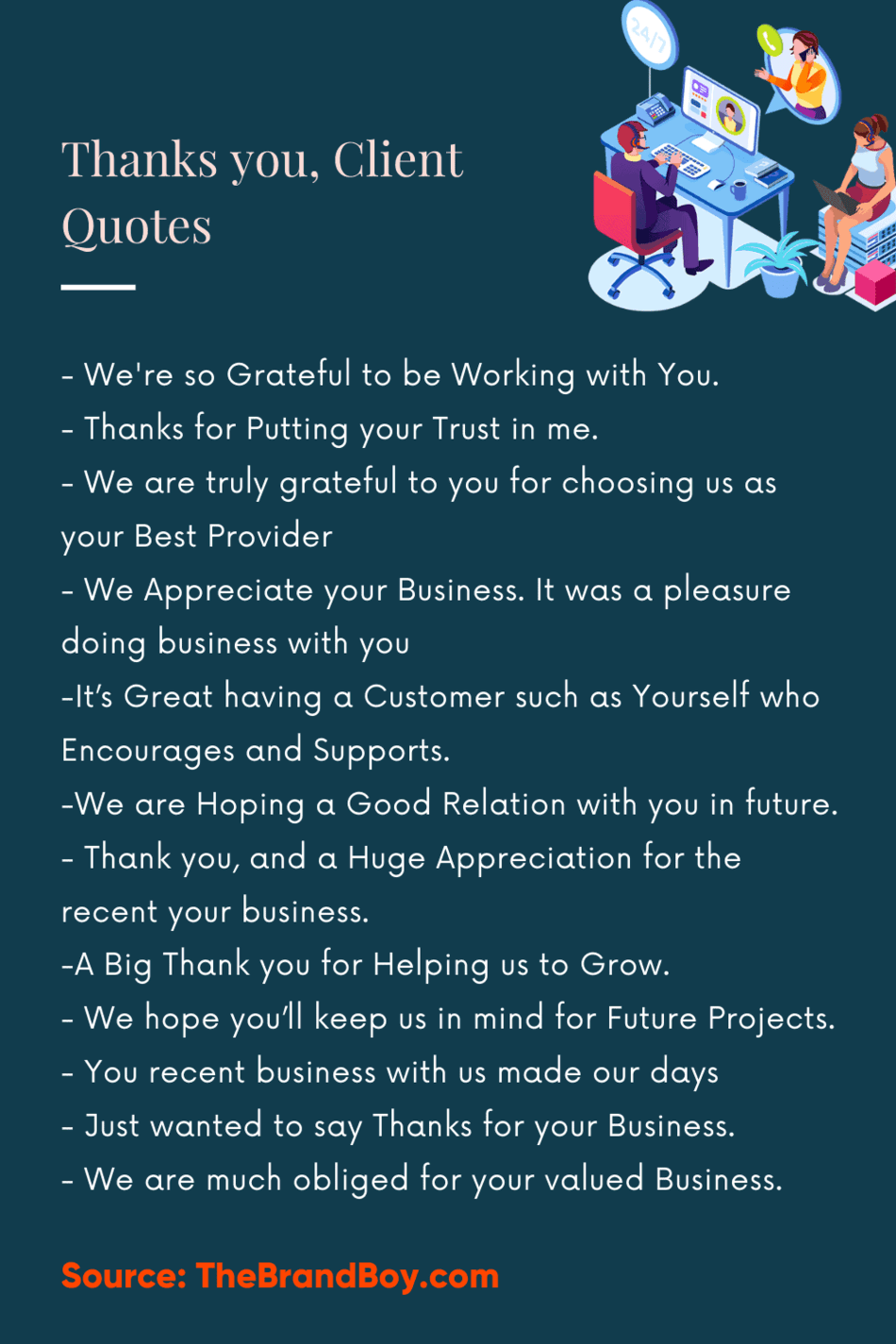 Thank You Notes & Quotes For Customers | How to Thank Your