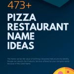 472 Creative Pizza Restaurant Name Ideas Video Infographic