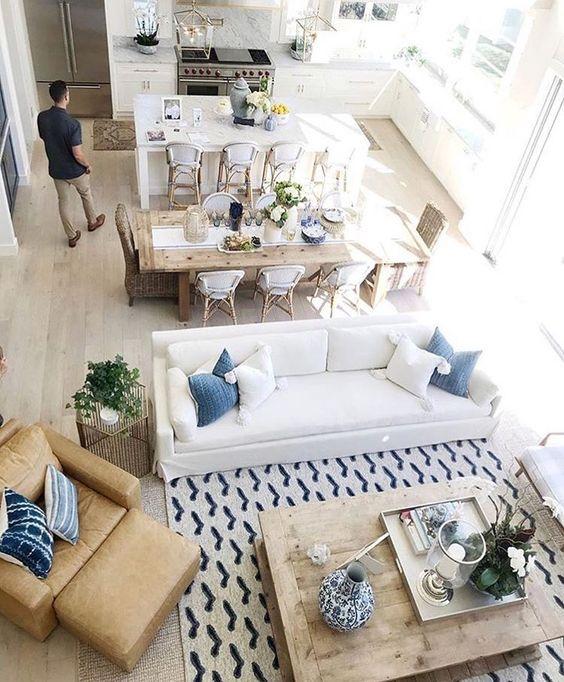 Come desiderava la proprietaria ora la zona giorno, ha la posizione di soggiorno e cucina faceva in modo. Come Arredare Un Soggiorno Rettangolare Con Cucina Casa Magazine