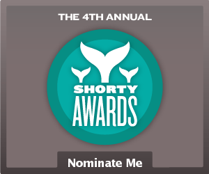 Nominate Miss Tiffie  ♌ ♡ for a social media award in the Shorty Awards!