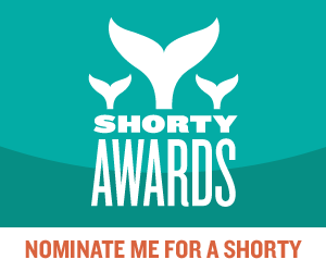 Nominate Jade Walker for a social media award in the Shorty Awards!