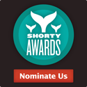 Nominate red Ravine for a social media award in the Shorty Awards!