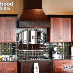 Kitchen Hood Robot Range Options Showplace Cabinetry The Soaring Chimney Is Offered In A Wide Of Sizes