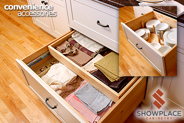 Convenience Accessories & Storage Showplace Cabinetry