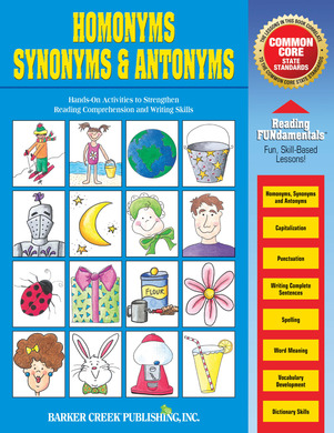 NEW Edition! Homonyms Synonyms & Antonyms Barker Creek