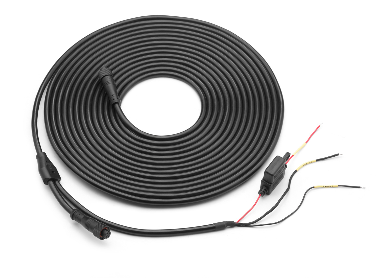 mmc pn2k 25 powered network cable for connection of compatible nmea 2000 mediamaster source units 25 ft 7 62 m  [ 1500 x 1100 Pixel ]