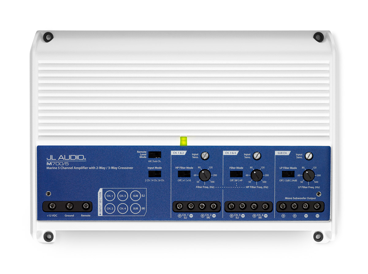 m700 5 5 ch class d marine system amplifier 700 w [ 1200 x 892 Pixel ]