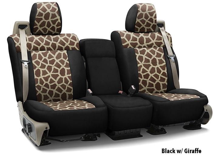 giraffe print chair swivel executive animal car seat covers fun zebra leopard more