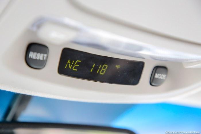 Termometr v moej masine pokazyval adskie +118F. Eto +47,7 po Celʹsiu.