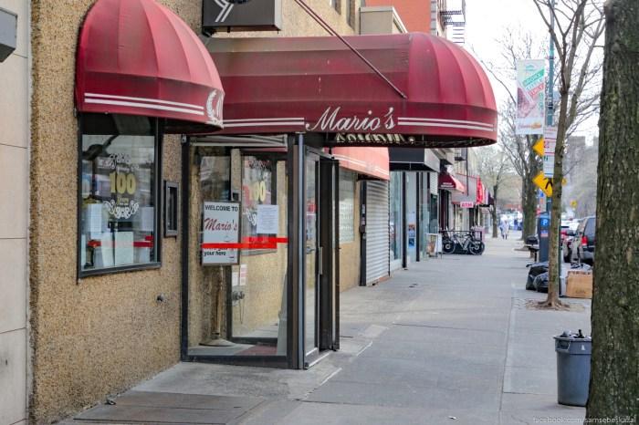 Legendarnyj restoran Mario rabotaet zdesʹ uze 100 let i ocenʹ nadeusʹ, cto budet rabotatʹ dalʹse. Poka on, kak i mnogie drugie zavedenia, zakryt.