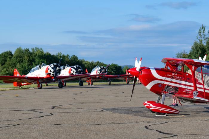 Pilotaznaa gruppa Aeroshell i...
