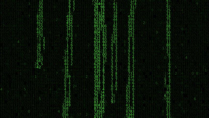 Matrix Falling Code Wallpaper Download Matrix Binary Rain High Definition Animated Loop Of Green