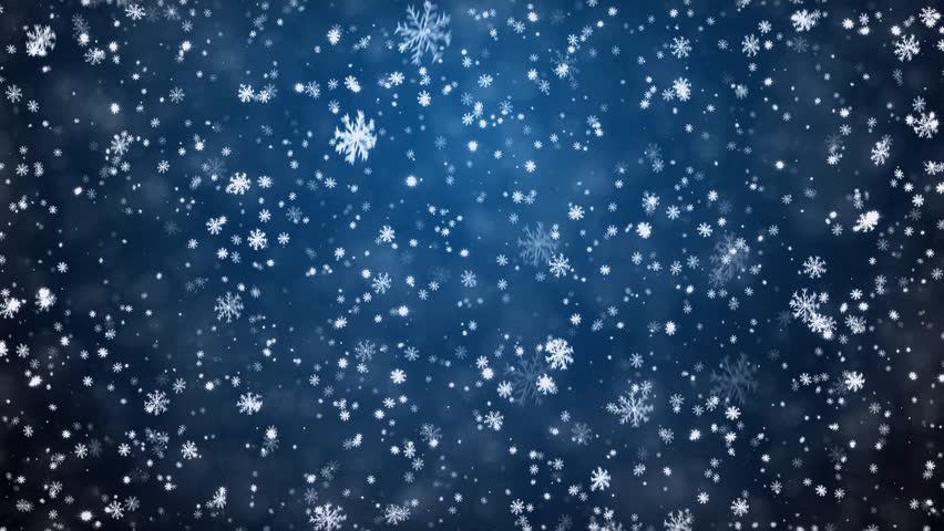 Falling Snow Live Wallpaper For Pc New Year S Frosty Background And Falling Snowflakes Stock