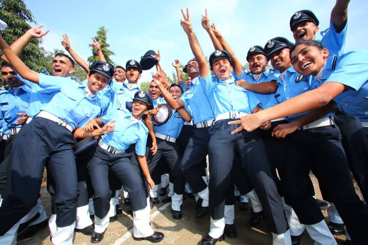 Twenty-one women officers join Indian Air Force