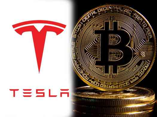 Tesla invests $1.5 billion in bitcoin cryptocurrency