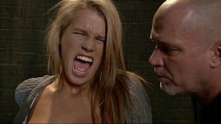 Image: Young blonde Aiden Aspen gets humiliated