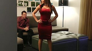 Lady in Red gets fucked image